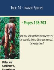 Topic 14 Species Invasions.ppt
