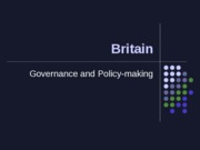 Britain-Governance.Policy-making