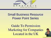 Guide To Permission Marketing for companies located in the UK
