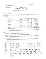 STAT 400 EXAM 1 solutions