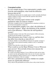 psy 202 ole miss - hw#11 conceptual