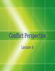 Lecture-4-Conflict