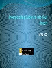 Incorporating Evidence into Your Report (2).pptx