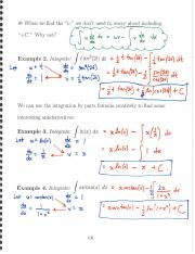 More Integration by Parts, Integrating Products of Trig Functions