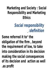 Lesson 2 - Social Responsibility and Marketing Ethics.ppt