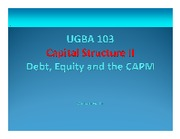 Module+3+01+Capital+Structure+in+Perfect+Markets+II