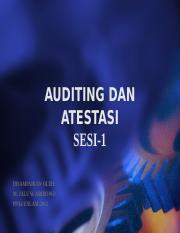 AUDITING DAN ATESTASI(sesi1)