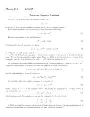 complexnumbers