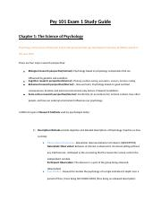 Exam 1 Study Guide Psy101 !.docx