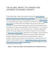 THE GLOBAL IMPACT OF CHINESE AND JAPANESE ECONOMIC GROWTH.docx