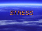 stress and coping 1-25-09