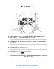 How to Mic a Drum Kit - Questions Sheet