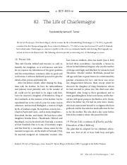 einhard life of charlemagne