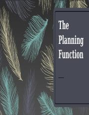3 The Planning Function.pptx