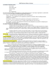 DSST Business Ethics and Society DANTES Test Study Guide ...