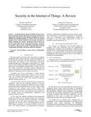 Security in the Internet of Things A Review