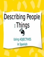 AdjectiveAgreement.ppt
