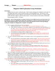 Magnetic Field Exploration - Rubric and Key.docx