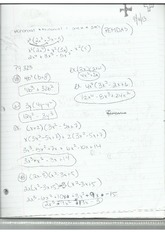 Monmial Trinomial and Binomial Notes