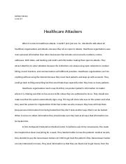 Week 2 Healthcare Attackers.docx