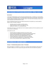 IELTS writing lesson plan 4