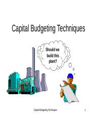 Capital Budgeting Techniques.ppt