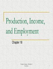 Week 8 - Production_ Income_ and Employment (Chapter 18)