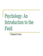 01_Introduction to the Field