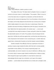 hamlet masculinity essay