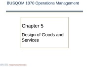 1070 CH 5 Design of Goods and Services Rev00