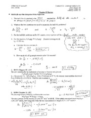 SI #7 - Chapter 15 Review Answer Key
