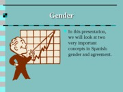 Paso preliminar-gender and agreement