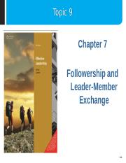 Topic_9_-_Followership_and_Leader-Member_Exchange.ppt