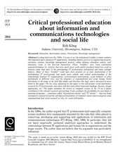 Kling-Critical Professional Education