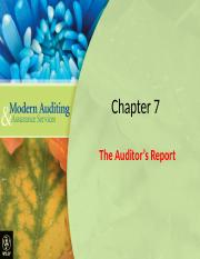Auditors Report Chapter_07