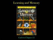 Learning Memory Presentation