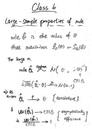 Tutorial 6 (notes and solution)