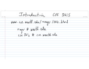 CSE361S-IntroductionF09