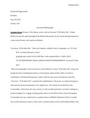 Annotated Bibliography (Claude)