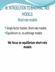 6850_s11 - introduction to binomial tree models
