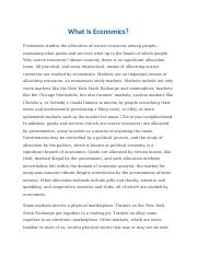 What Is Economics.docx