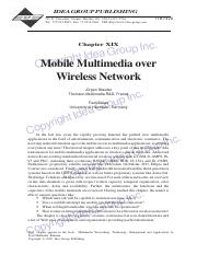 Mobile-Multimedia-over-Wireless-Network