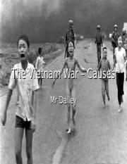 International Relations - Vietnam War Causes.ppt