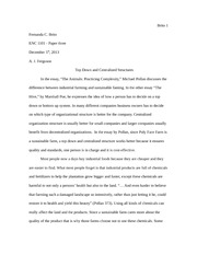 ENC 1101 paper #3 final draft