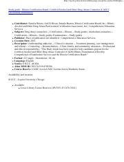 Cadc Study Guide Loyola Pdf Https Loyola Primo Hosted