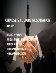 CHINESE'S CULTURE NEGOTIATION GROUP 1.pptx
