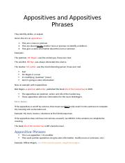 Appositives and Appositives Phrases Notes.docx