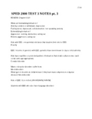 SPED 2000 TEST 3 NOTES pt. 3