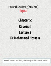 Topic 3 ch05  Rev March 19
