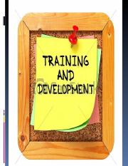 Training and development.ppt